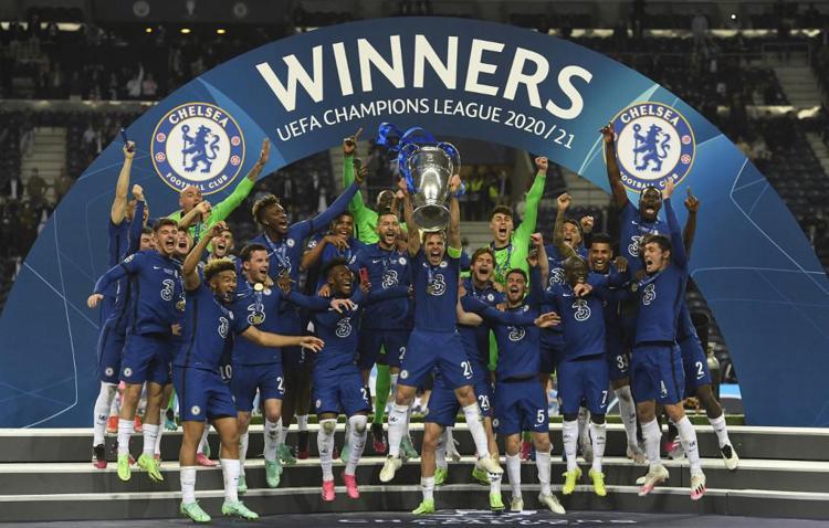 Chelsea Campione d'Europa